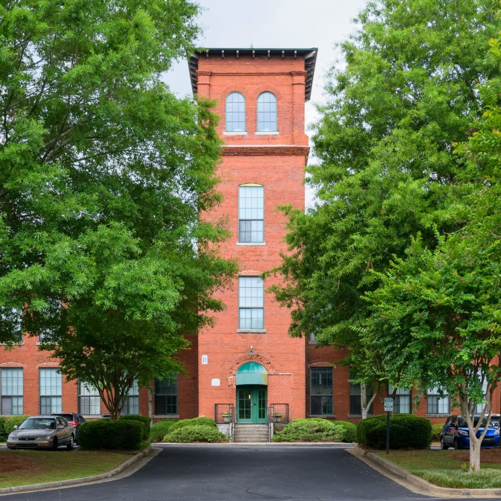 View the site for Newnan Lofts apartments in Newnan, Georgia