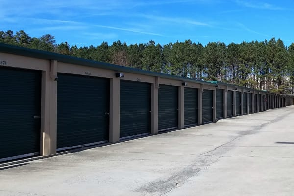 Self storage units for rent at Cardinal Self Storage - West Raleigh in Raleigh, North Carolina