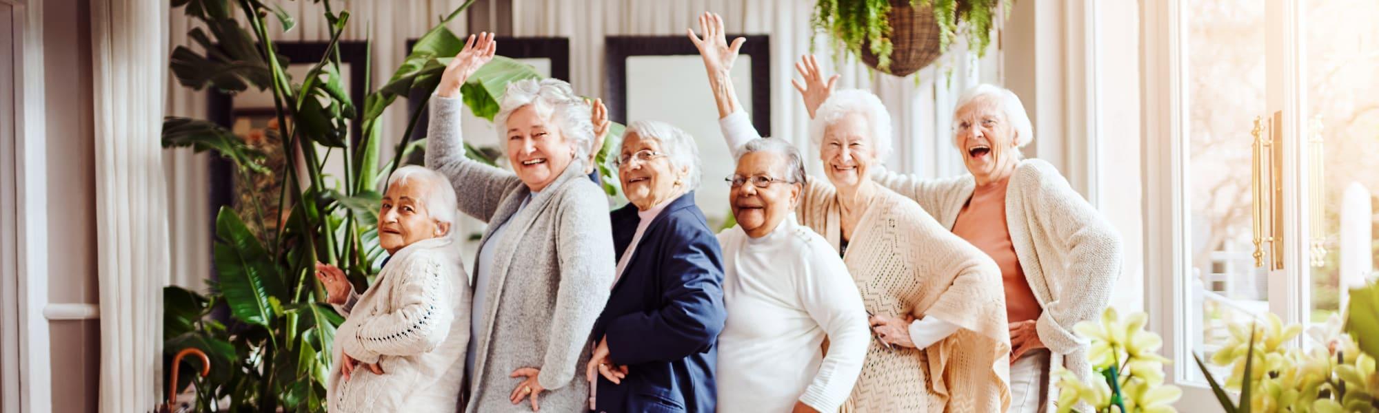 Senior living options at  Mercer Hill at Doylestown in Doylestown, Pennsylvania