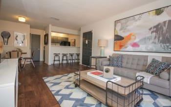 Large spacious living room in Marietta, GA