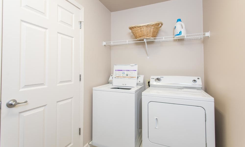Modern washer/dryer in our Watertown, New York apartments
