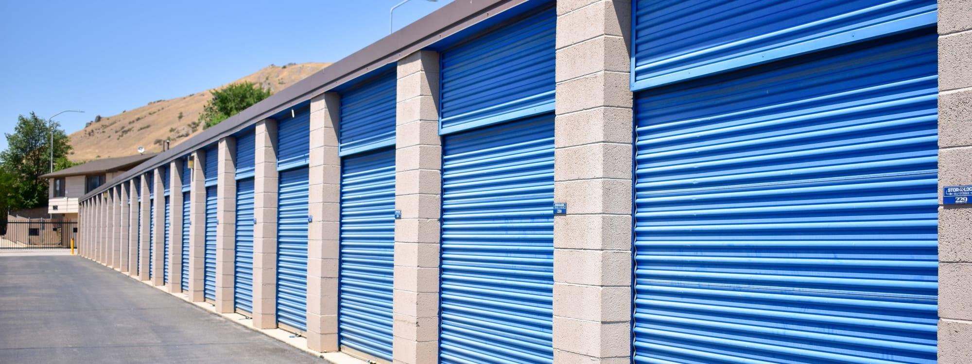 Self storage options at STOR-N-LOCK Self Storage in Salt Lake City, Utah