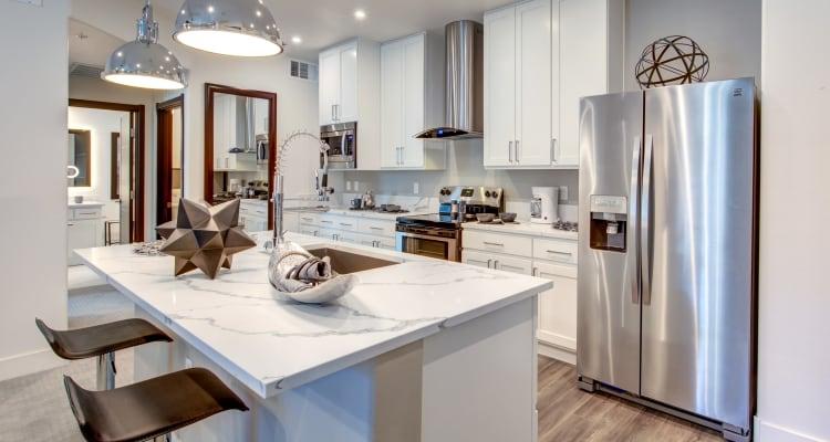 Large resident kitchen at SUR702 in Las Vegas, Nevada