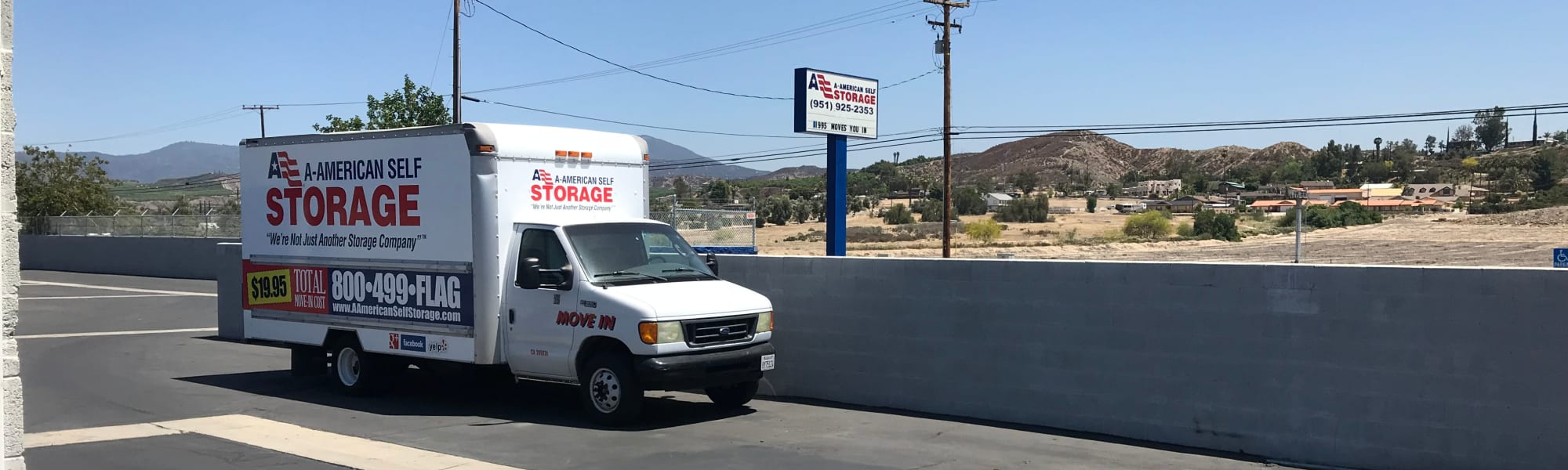 A-American Self Storage in Hemet, California