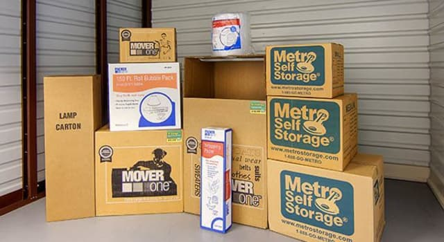 Packing supplies offered at Metro Self Storage in Chadds Ford, Pennsylvania