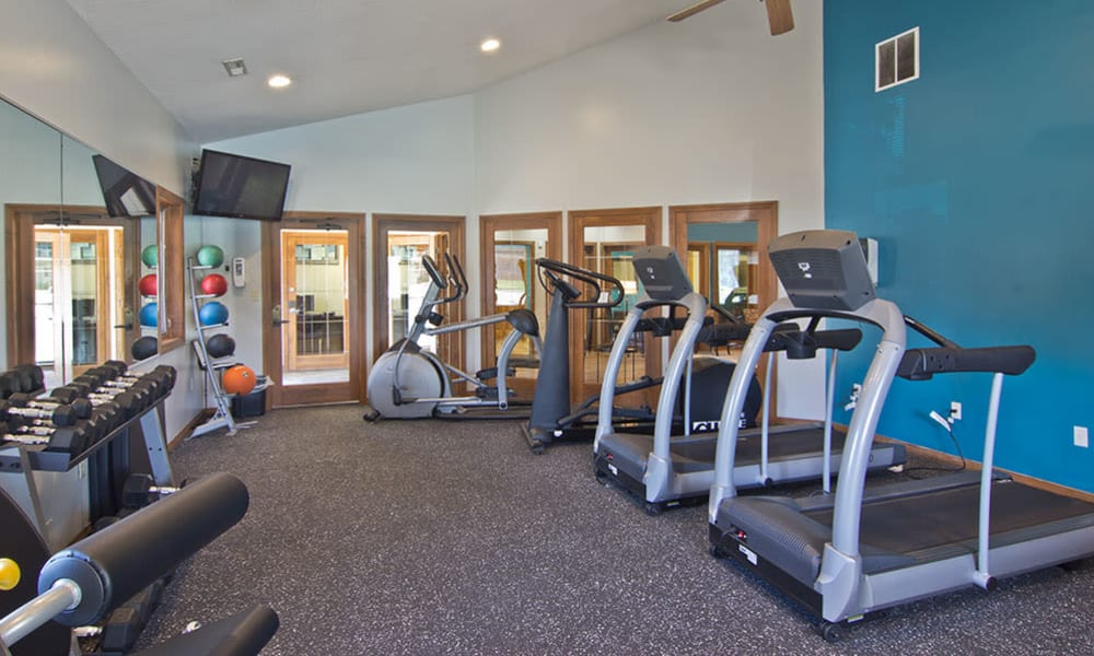 Fitness Center at The Summit at Ridgewood in Fort Wayne,