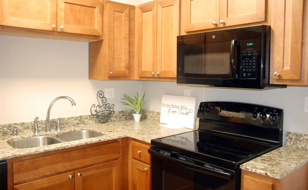 Kitchen at Pikeville Commons Apartments in Pikeville, Kentucky