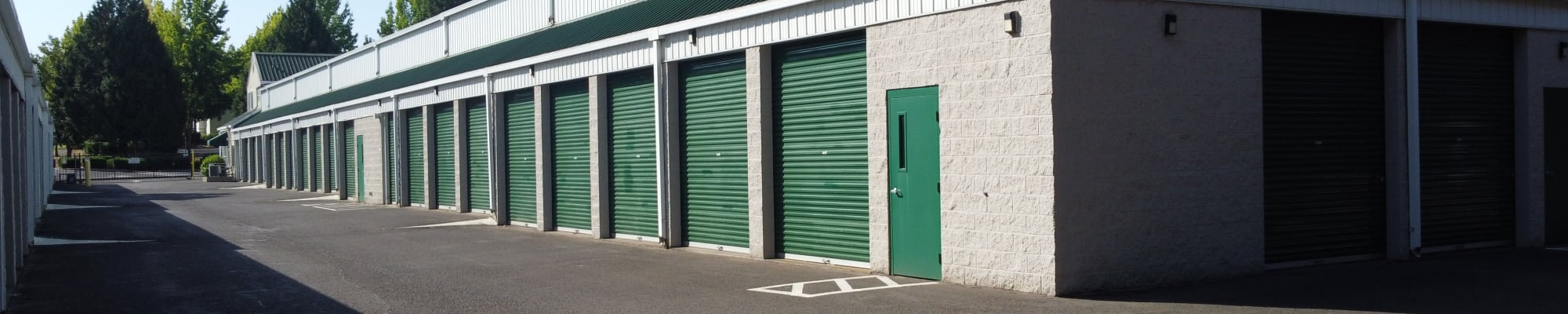 Unit sizes and prices at A Storage Place in Tualatin, Oregon
