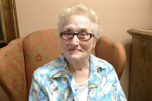 Dottie Morgenroth at Southern Pines Gracious Retirement Living in Southern Pines, North Carolina