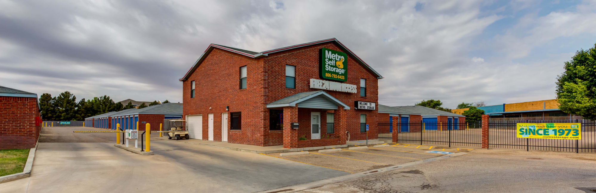 Metro Self Storage in Lubbock, TX