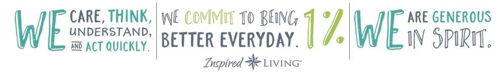 slogan graphic for Inspired Living in Ocoee, Florida