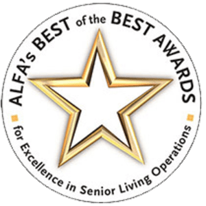 "The Assisted Living Federation of America (ALFA) bestows ""Best of the Best Awards"" to Terrace Communities"