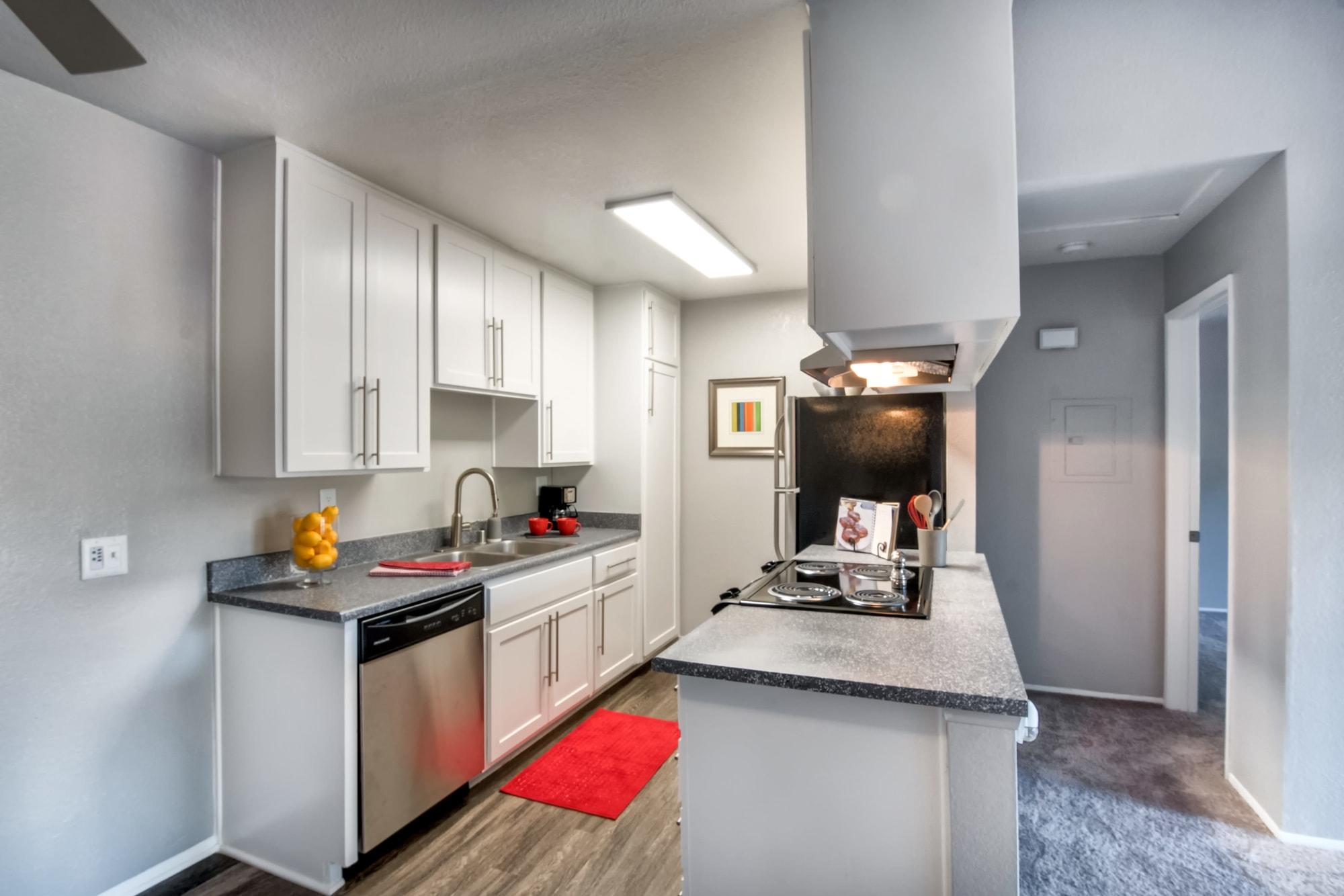 Unique kitchen at apartments in Chula Vista, California