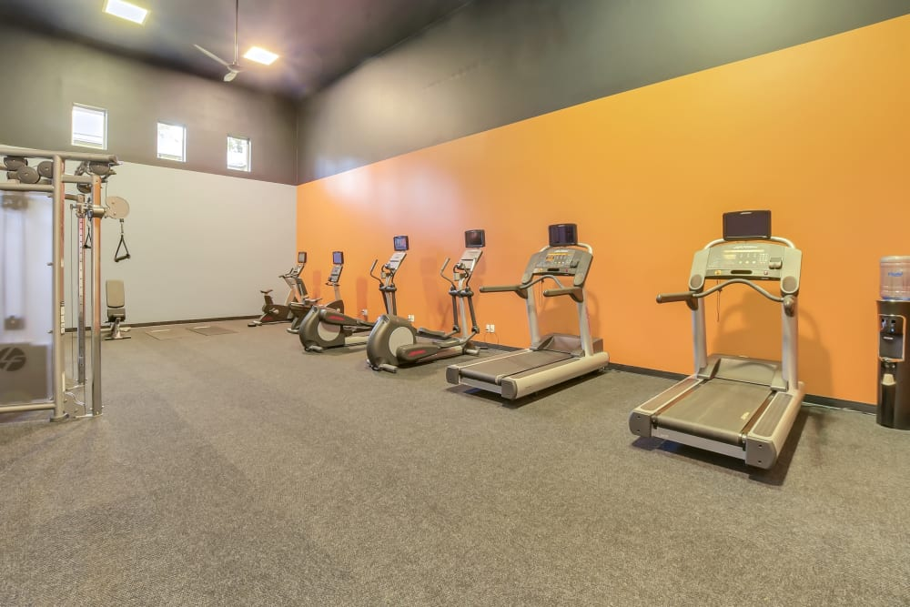 Fitness center at Arbor Square Apartments In Olympia WA