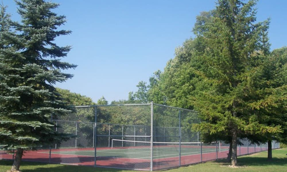 Westminster Place Apartments tennis court