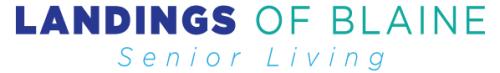 Landings of Blaine Logo