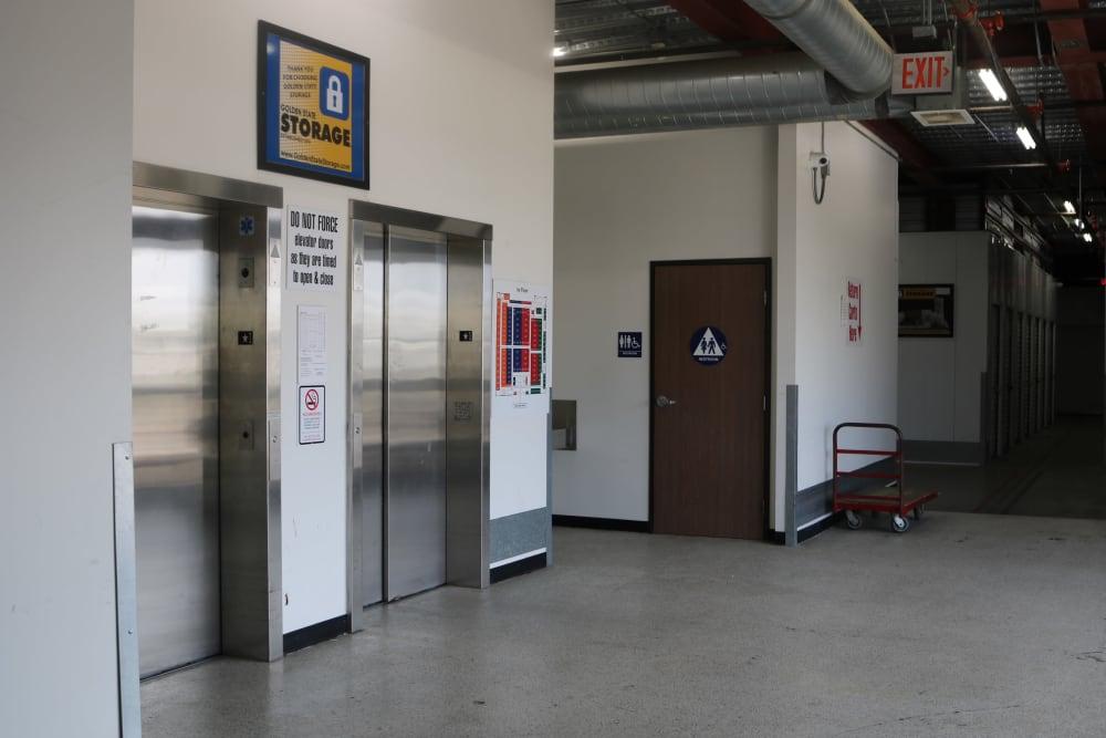 Elevators at our Camarillo location storage facility