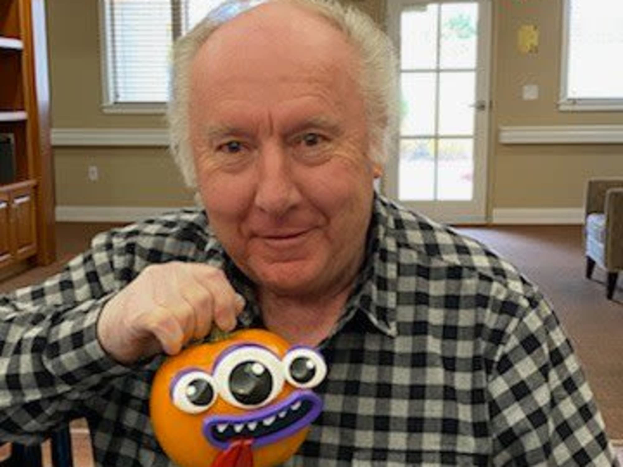 Decorated pumpkin at Seven Lakes Memory Care in Loveland, Colorado