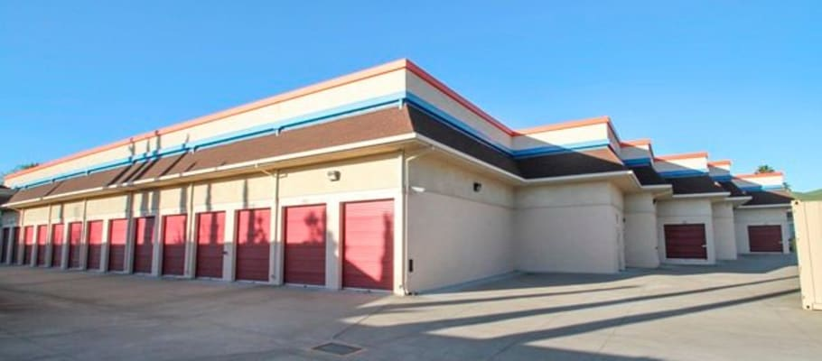Convenient drive-up storage units at A-1 Self Storage in Concord, California