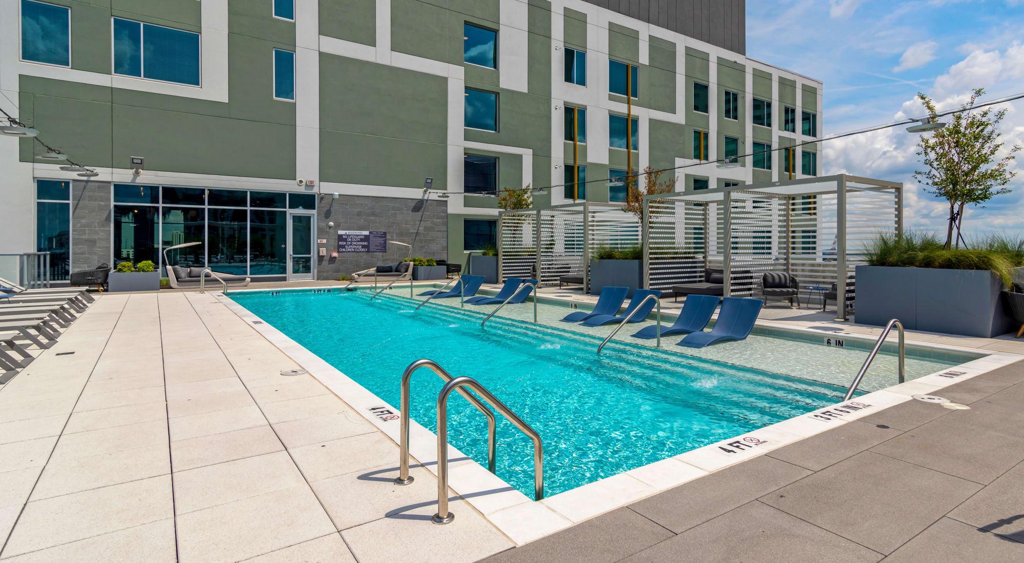 Student apartments at HERE Atlanta in Atlanta, Georgia