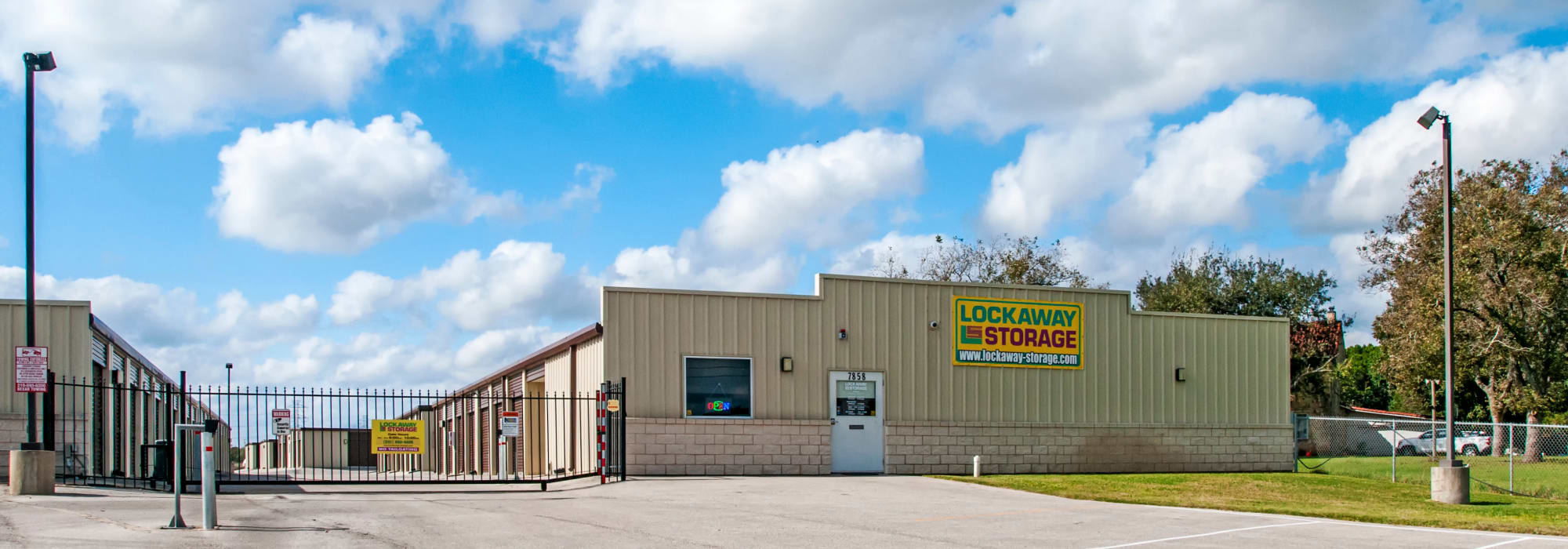 Self storage at Lockaway Storage in San Antonio, Texas