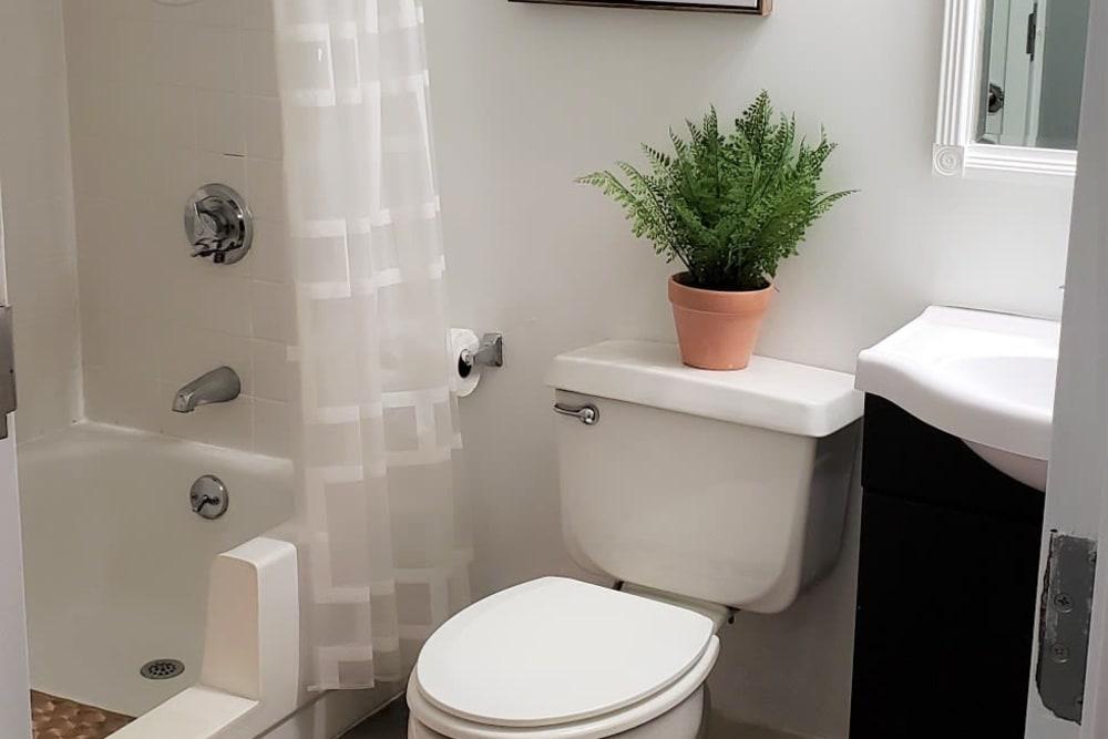 Bathroom at Wood Haven Senior Living in Tewksbury, Massachusetts
