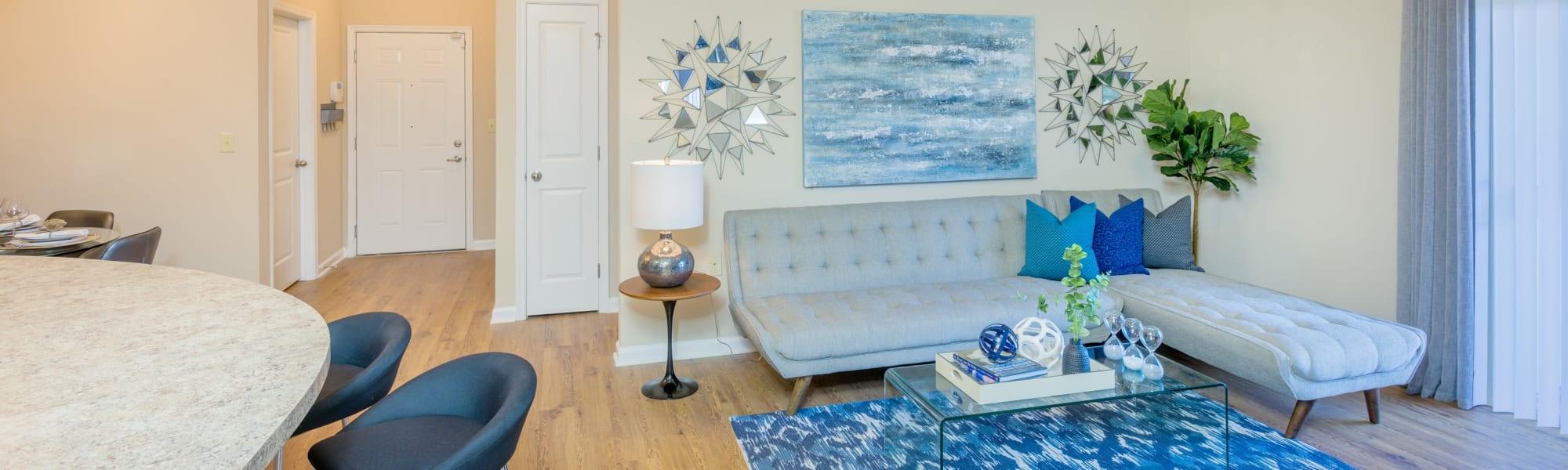 Floor plans at Arbor Village in Summerville, South Carolina