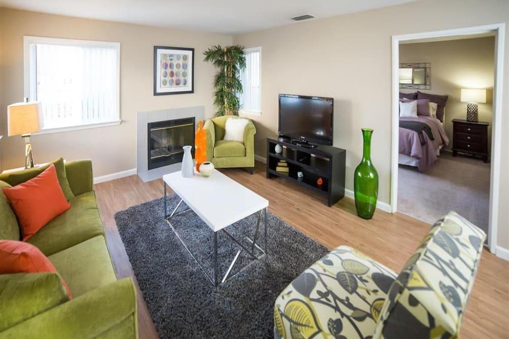 Large living rooms at Shaliko in Rocklin, California.
