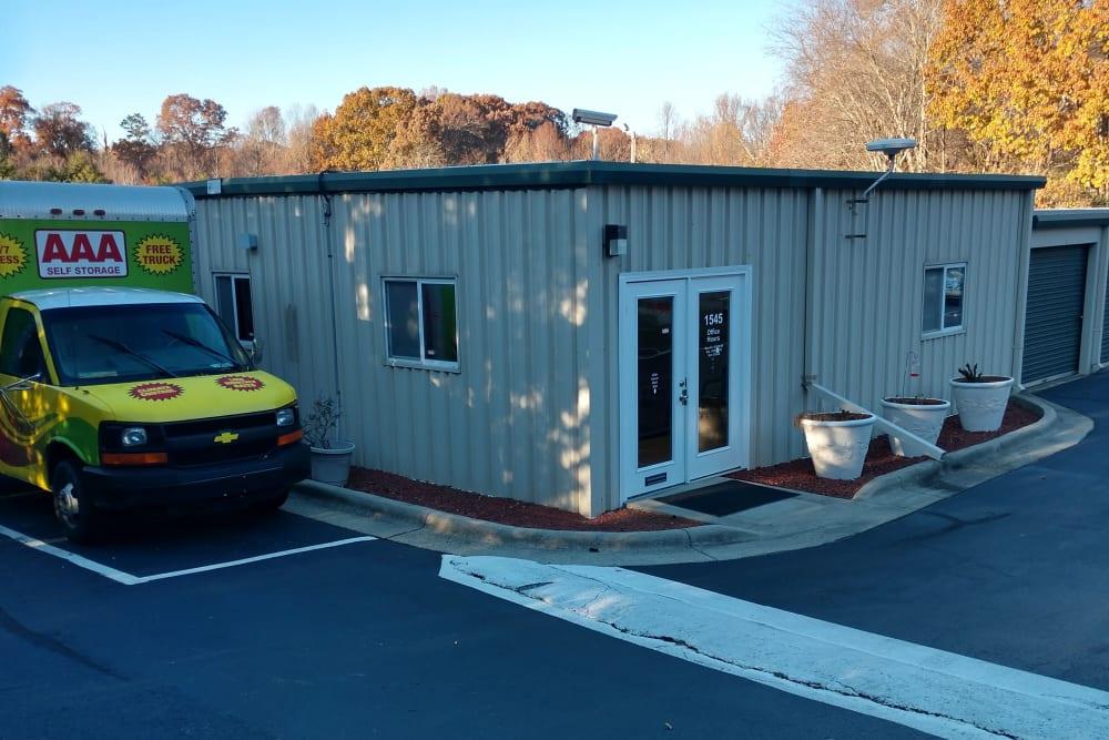 Storage office at  Greensboro, NC