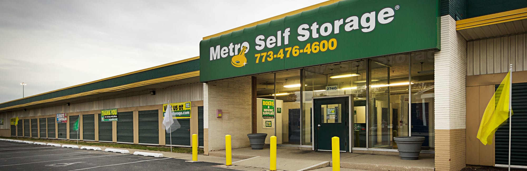 Metro Self Storage in Chicago, IL