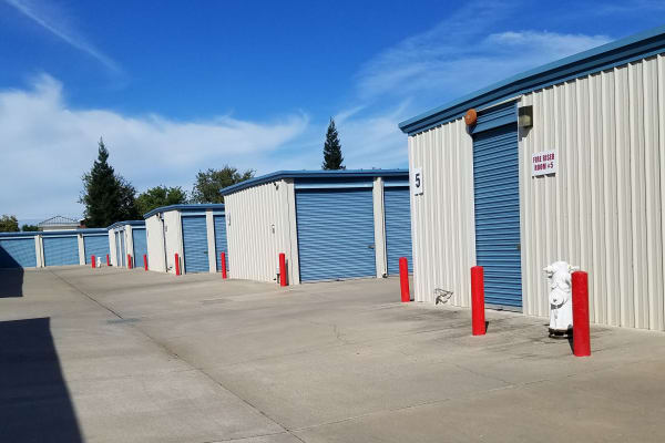 Self storage units for rent at Sundance Self Storage in Roseville, CA