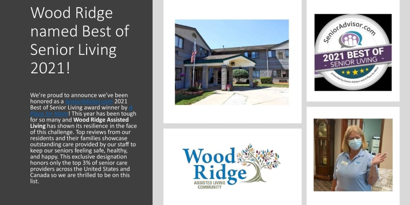 Best of Senior Living 2021 PDF for Wood Ridge Assisted Living