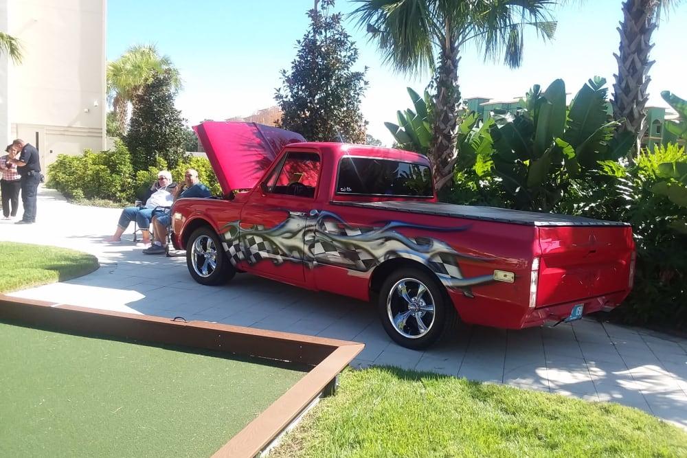 Car show at Merrill Gardens at ChampionsGate