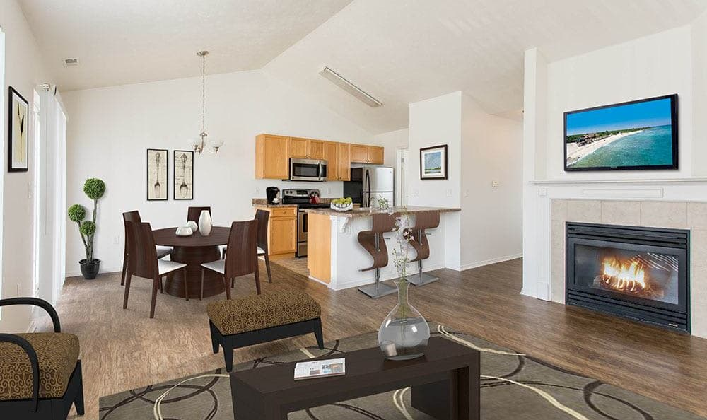 Avon Commons offers spacious floor plans