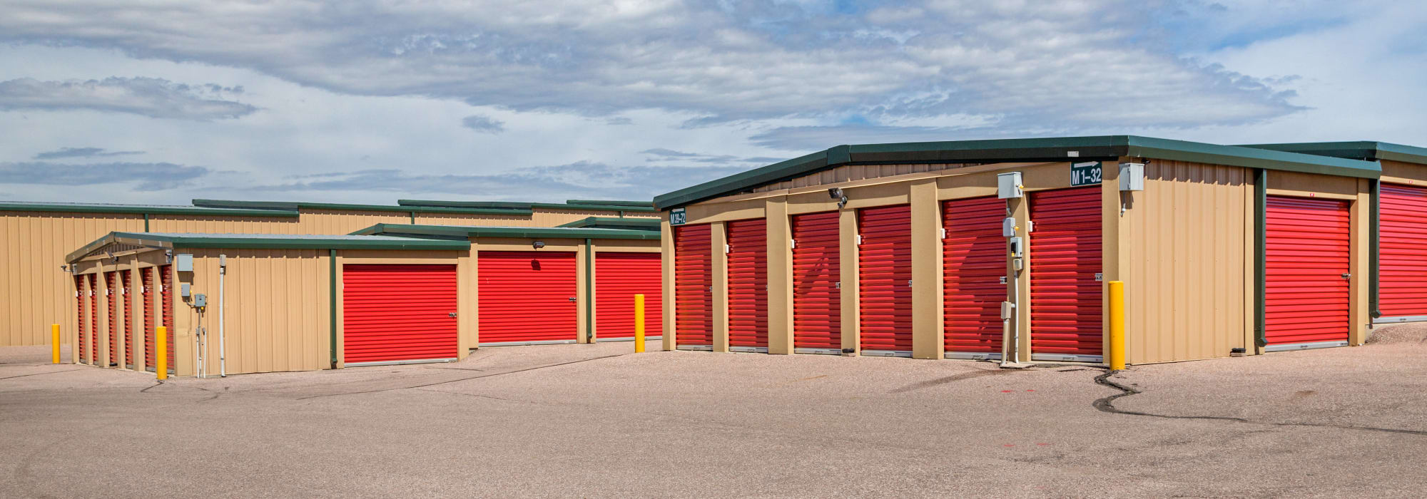 Self storage in Colorado Springs, Colorado
