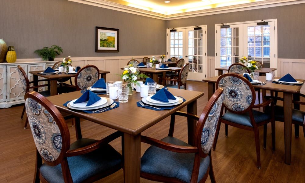 Dining Options at Forest Creek Memory Care