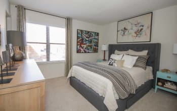 Comfortable bedroom in our Marietta, GA apartments