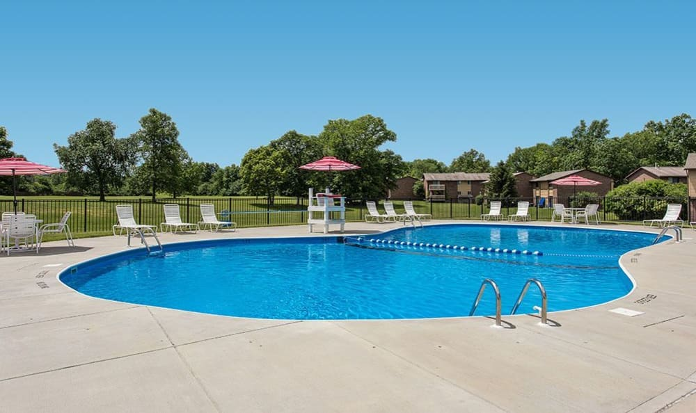 Pool at High Acres Apartments and Townhomes in Syracuse, NY