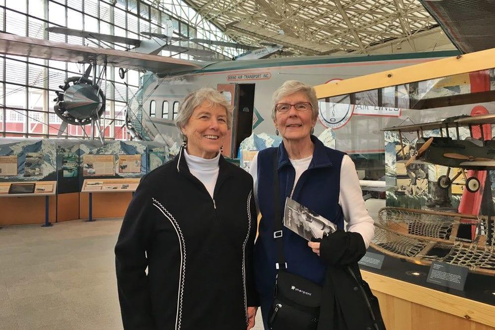 Museum of flight near Merrill Gardens at The University in Seattle, Washington.