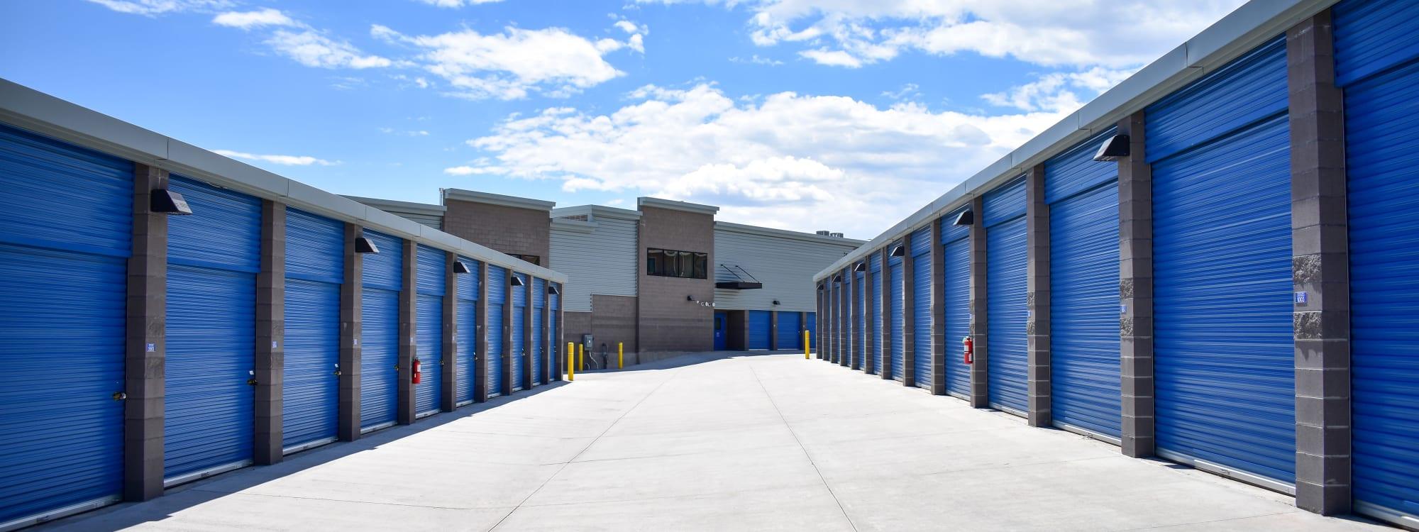 Self storage options at STOR-N-LOCK Self Storage in Colorado Springs, Colorado