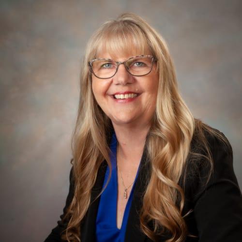Sally Reinhardt, Community Relations Director at Randall Residence of Newark in Newark, Ohio