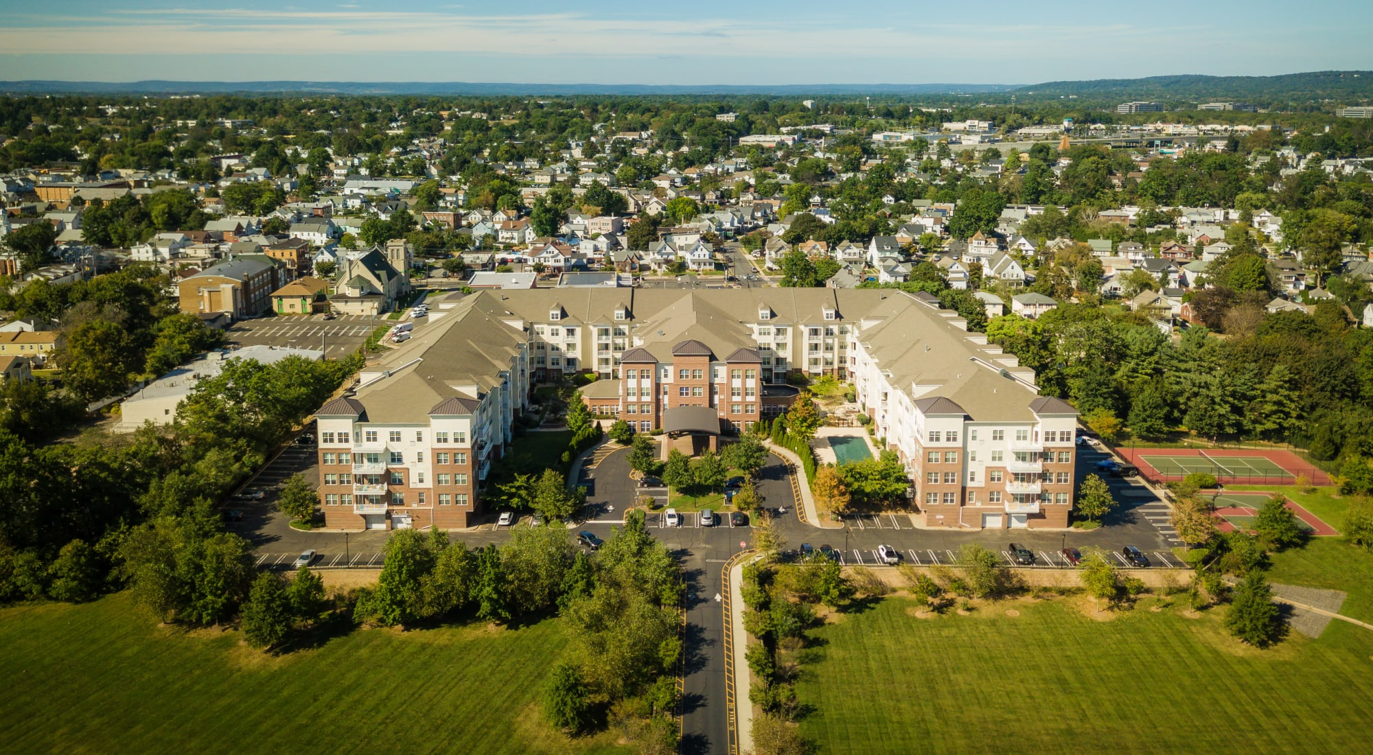 Apartments at The Lena Luxury Residences in Raritan, New Jersey