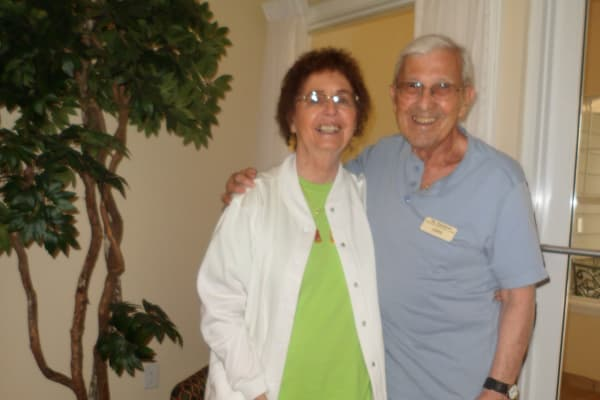 John and Judy Cruz at The Highlands Gracious Retirement Living in Westborough, Massachusetts