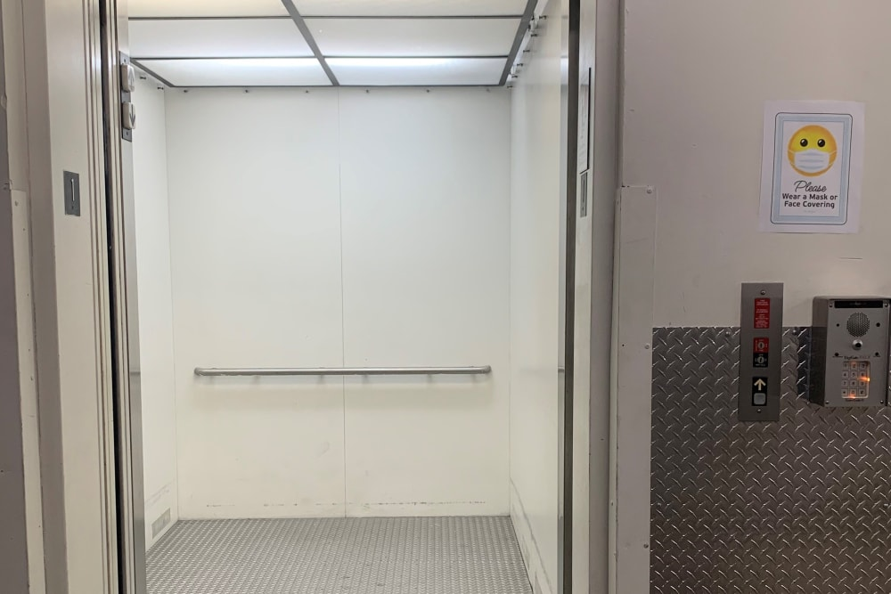 Elevator at Storage Etc