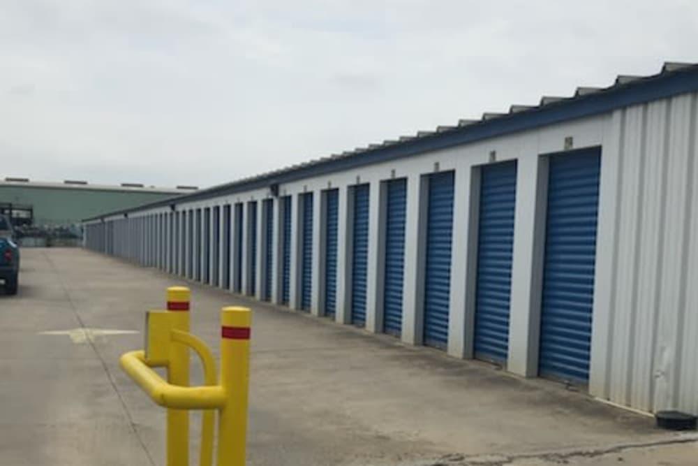 Exterior units at Store It All Self Storage - Zapata in Laredo, TX