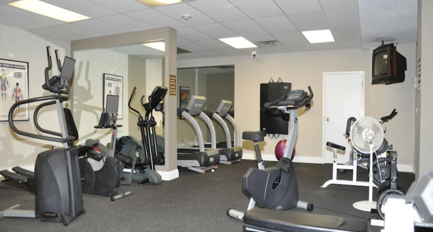 Fitness facility at Glenmore Heights in Calgary, Alberta