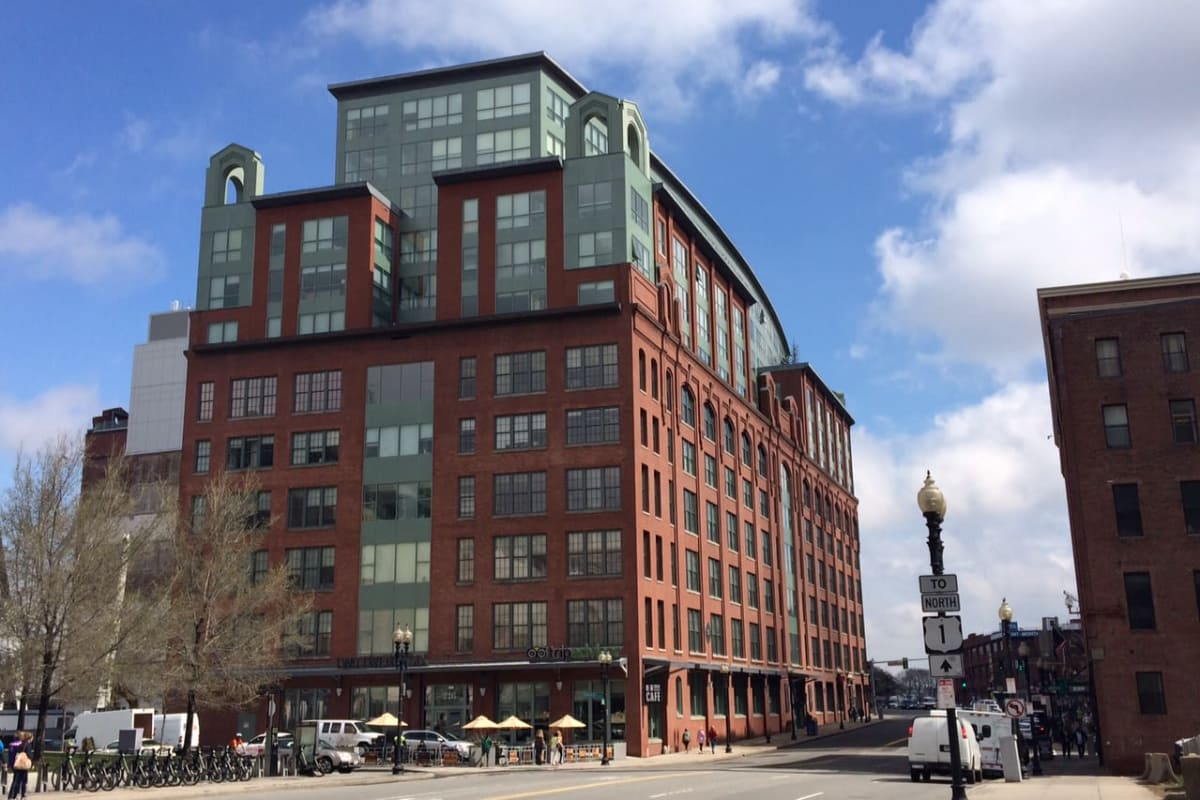 Commercial building in Boston, MA near First Realty Management