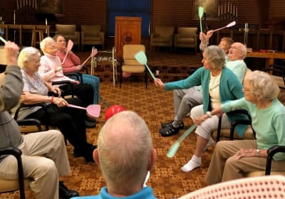 Seniors at Eastern Star Masonic Retirement Campus