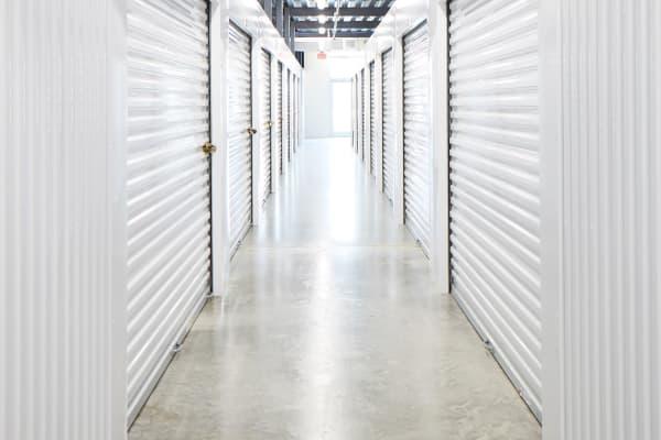 Indoor Climate-controlled units at Spacebox Storage Apopka in Apopka, Florida.