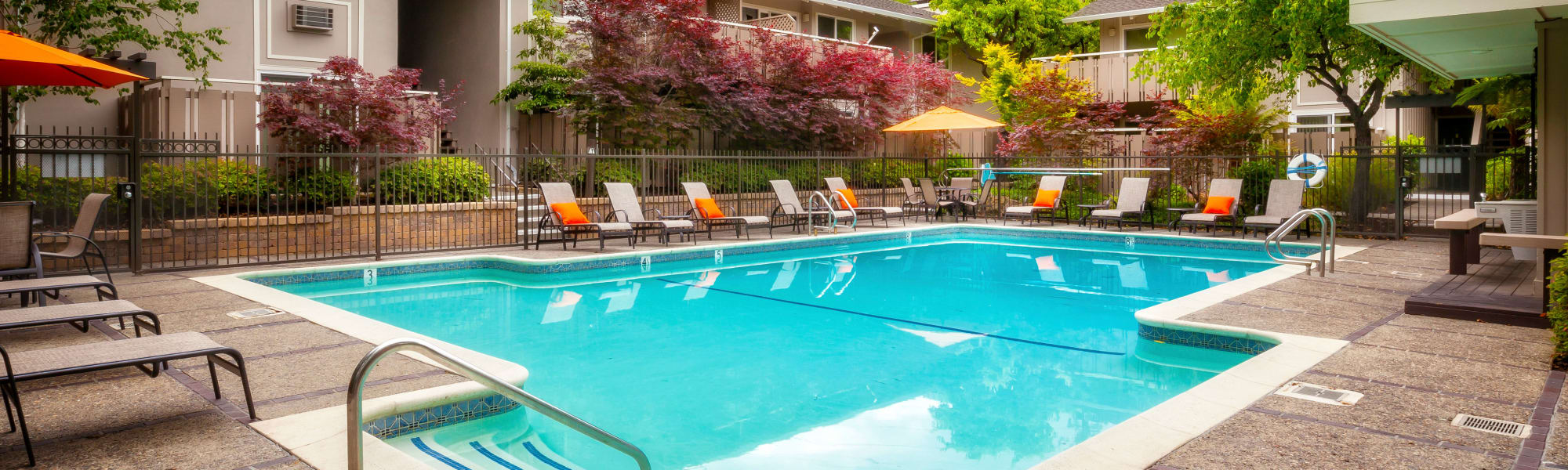 Amenities at Greendale Apartments in Mountain View, California